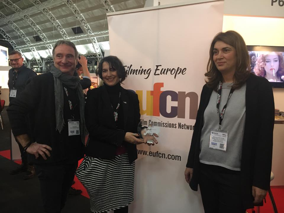 EUFCN: FilmLocationAward goes to CORFU, GREECE