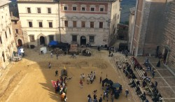 "Sul set della fiction ""I Medici"""