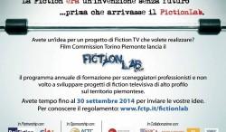Scade il 30 settembre il bando di FICTIONLAB, per progetti di Fiction in Piemonte