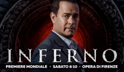 "Anteprima mondiale ""Inferno"" di Ron Howard"