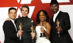 Oscar 2019: vince Green Book, Malek e Colman migliori attori