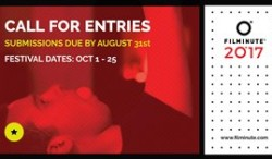 Call for entries for Filminute 2017