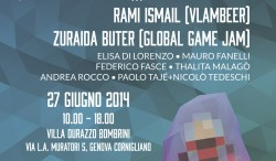 Game Happens! Genova 27th June.