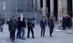 Sul set della serie tv Hannibal a Firenze
