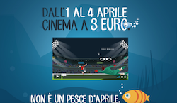 CinemaDays: 4 giorni di cinema a 3 euro