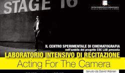 Nuovi corsi in partenza al Centro Sperimentale di Cinematografia di Roma.