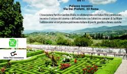 Apgi e Italian Film Commission, insieme per valorizzare i giardini storici e i parchi come location cinematografiche